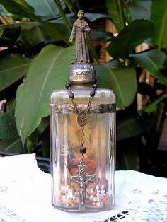 Pearls of Wisdom Soldered Bottle