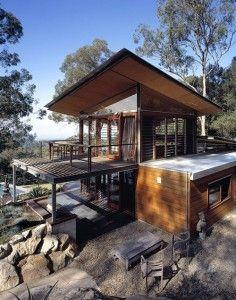 Bowen Mountain Eco House Design Australia: Steel Frame Structure Bowen Mountain House