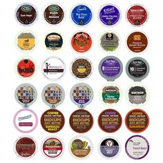 30-count Extra Bold and Dark Roast Coffee Single Serve Cups For Keurig K Cup Brewers Variety Pack Sampler ** Hurry! Check out this great item : Fresh Groceries