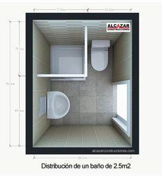 baños distribucion pequeños - Buscar con Google
