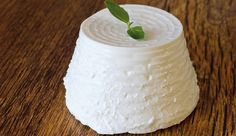 frischkse selber machen a fresh ricotta with basil leaf on wooden table Basil, Dairy, Food And Drink, Cheese, Fresh, Cooking, Maggi, Carne, Blog