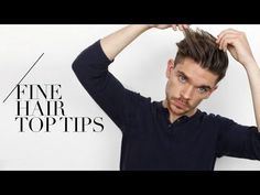 7 Tips For Guys With Fine Hair… I Swear By Them! Men with fine hair: these tips are for you! What is fine hair? Is fine hair the same as Guy Haircuts Long, Haircuts For Fine Hair, Mens Hairstyles Thin Hair, Cool Hairstyles, Hairstyle Men, Straight Hairstyles, Alexa Chung, Different Hair Types, Regrow Hair