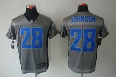 2012 Nike NFL Tennessee Titans 28 Chris Johnson Grey Shadow Jerseys