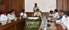 With a view to tap the vast marketing potential of fruits and vegetables from the state both within the country and abroad, the Punjab Chief Minister Mr. Parkash Singh Badal yesterday gave nod for setting up Advance Marketing Intelligence Wing for Horticulture in the state. A decision to this effect was taken by the Chief Minister while presiding over a meeting with a delegation of Kinnow growers from the state at Punjab Bhawan yesterday. #progressivepunjab   #akalidal
