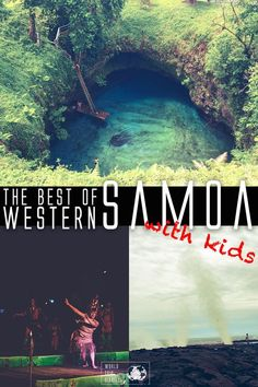 A travel guide with the best of Western Samoa for families with kids! This incredible country are one incredible tropical destination for those craving some nature time! Travel With Kids, Family Travel, Tropical, Travel Activities, Holidays With Kids, China Travel, World Traveler, Australia Travel, So Little Time
