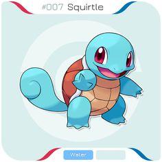 007 Squirtle by zerudez on DeviantArt Squirtle Squad, Pokemon Bulbasaur, Pikachu, Gen 1 Pokemon, Pokemon Room, Blackwork, Original 151 Pokemon, Pokemon Painting, Pokemon Starters