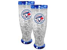 Toronto Blue Jays Blue Freezer Pilsner Set Sports Merchandise, Toronto Blue Jays, Freezer