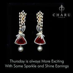 #Thursday #treasure #jewelery  #Indian #Traditional #Diamond #jewellery by #charu #jewels #surat #elegant #bridal #