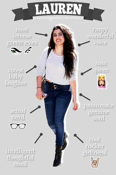 Lauren : an infographic