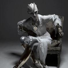 Wearable sci-fi fashion.
