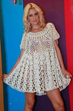 crochet dress - Acarvalho from: www.yandex.ru (Натало4ка)