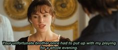 """"""" Fitzwilliam Darcy's inner struggles: I think this one is one of my favorites Jane Eyre, Jane Austen Books, Simple Twist Of Fate, Elizabeth Gaskell, Mr Darcy, Pride And Prejudice, Prejudice Quotes, Book Nerd, Movie Quotes"""