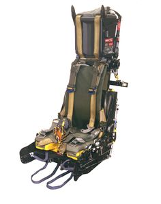 Mk8 Ejection Seat. Over 40 lives saved using this seat type. Over 500 Mk8 ejection seats currently flying.