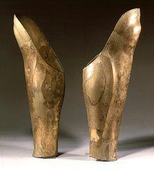 Bronze greaves