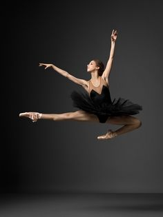 Ballet leap. Such incredible legs. NYC Ballet.