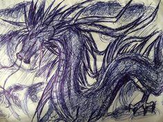 2013 Dragon pen art