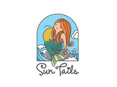 Sun Tails by Carlos Puentes via @Dribbble