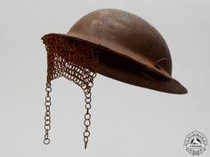 A First War Mark I Tanker's Helmet