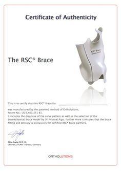 De RSC® Brace is niet alleen een brace, maar ook een alomvattend behandelingsconcept. #scoliose #skoliose #scoliosis