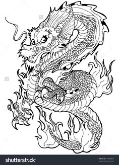 japanese_tattoo_dragon_by_zell381-d3chjc4.jpg (783×1020