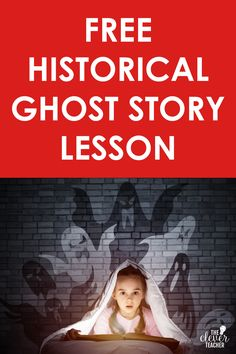 """This free social studies halloween lesson will help you integrate social studies into your Halloween festivities. The """"Golden Arm"""" ghost story is spooky and educational! #5thGrade #MiddleSchool #Halloween Teaching History, Teacher Blogs, Ghost Stories, Social Studies, Curriculum, Middle School, Clever, Arm, Study"""