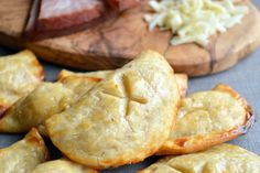 Easy Ham & Cheese Handpies - made with bought pie crust - use different fillings