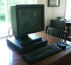 Steve Jobs NeXT Computer NeXTStation Monitor, Keyboard, Mouse, NeXTStep 3.3 Pens