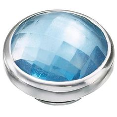 Everyones happy at the beach! The cool blue of this Topaz Cubic Zirconia will sparkle beautifully from your favorite Kameleon Jewelry piece!...