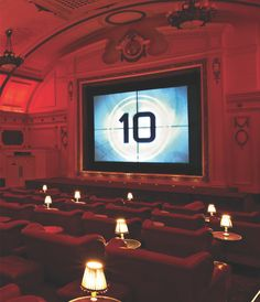 Electric Cinema, Portobello, London || This is a Notting Hill, century old, classic and is one of the forefathers of the current slate of luxury cinemas found around the world. With a bar at the back, cosy leather armchairs and six intimate double sofa beds in the front row, it's as glamorous as the films it screens