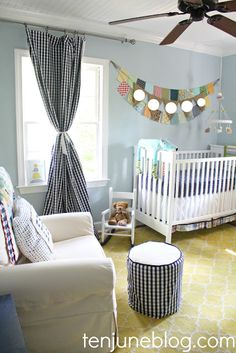 The best ideas for DIY NURSERY MAKEOVERS - BABY BOY NURSERY SOURCE LIST