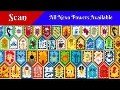 All Lego Nexo Powers / Nexo Shield - Scan and Enjoy - YouTube