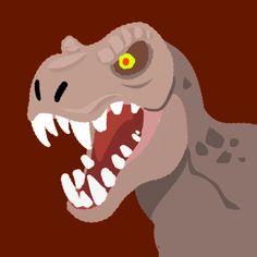 Custom Agar.io Skin T-Rex