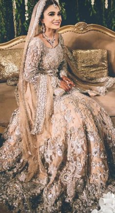 Fishtail Wedding Dresses With Sleeves .Fishtail Wedding Dresses With Sleeves Indian Wedding Gowns, Pakistani Wedding Outfits, Indian Bridal Outfits, Pakistani Bridal Dresses, Pakistani Wedding Dresses, Pakistani Couture, Bridal Lehenga, Asian Bridal Dresses, Indian Dresses