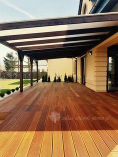 tarasy wielkopolska Pergola Patio, Backyard, Outdoor Living, Outdoor Decor, Garden Landscaping, Garden Design, Porch, Outdoor Structures, Flooring