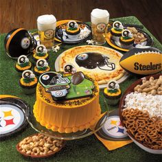 Steelers Football Tailgating Party Inspiration