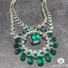 Emerald heaven here at our booth on last day of Hong Kong Jewellery Show! Be enchanted by visiting us in Grand Hall, E14 #KarenSuen #KarenSuenFineJewellery #Designer #BespokeJewels #PreciousStones #Design #FineJewelry #JewelleryDesigner #ColorGemstone #HauteJoaillerie #UniqueJewellery #Gemstone #Diamond #Emerald #ColombianEmerald #HauteCouture #JewelsOfInstagram #Paris #London #NewYork #Riyadh #Kuwait #Doha #Bahrain #Dubai #Geneva #HongKongJewelleryandGemFair2017