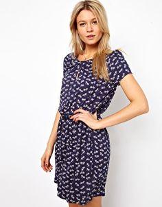 Oasis Bicycle Print Dress