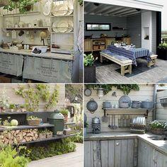 Met een buitenkeuken kun je nog meer van het buitenleven genieten. Heerlijk buiten bakken, grillen en barbecuen terwijl je van de zon geniet. Gelukkig hoeft de tuin helemaal niet enorm groot te zijn om toch van een buitenkeuken te genieten.