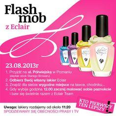 Flash mob z Eclair <3 #eclair #eclairnails #nails #nailswag #nailporn #nailpolish #eclairevents