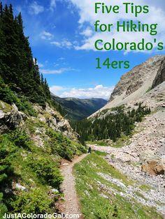 How to Hike a Fourteener via @Heather Balogh #14er