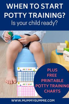 How do you know when your child is ready to start potty training? What are the signs they are ready? and how to start potty training? Printable Potty Chart, Teen Memes, Toddler Behavior, Potty Training Tips, Parenting Books, Kids Health, Your Child, Baby Kids, Maternity