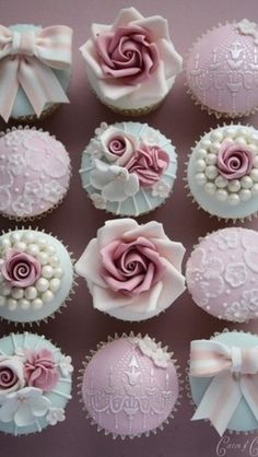 Good idea for #decoration #cupcakes. You need: *#mastic *#food colorings *and #Good #mood