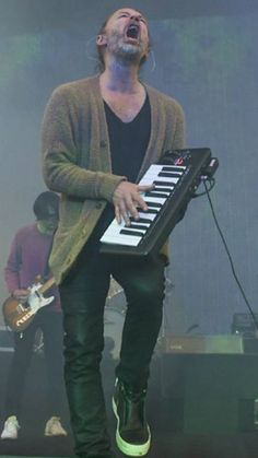 Thom Yorke - #Radiohead - The Greek Theatre on April 18, 2017 in Berkeley, California - By Tim Mosenfelder