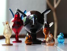 Birds by Toikka Festive Catcher iittala Finland, Catcher, Table Lamp, Glass, Interior, Festive, Bucket, Design, Home Decor