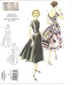 Vogue original 1956 Design V1084