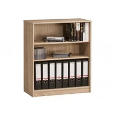 Bookcase Made Out Of Plywood Material With A Laminate Finish 3 Open Shelves Simple