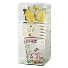"""Truly Fairy"" Butterfly Paper Cups -  Party Supplies - Talking Tables - Putti Fine Furnishings Toronto Canada - 2"