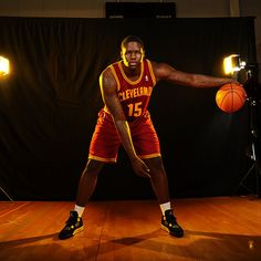 Anthony Bennett #15 of the Cleveland Cavaliers poses for a portrait during the 2013 NBA rookie photo shoot on August 6, 2013 at the Madison Square Garden Training Facility in Tarrytown, New York. (Photo by Brian Babineau/NBAE via Getty Images)
