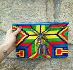 Wayuu clutch  www.fullmoonrise.com
