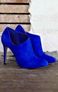 Cobalt electric blue // bootie. bold.